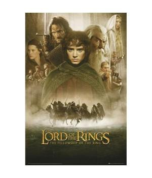 "Постер ""The Lord of the Rings (Властелин колец)"""