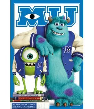 """Постер """"Monsters University (Университет монстров)"""""""