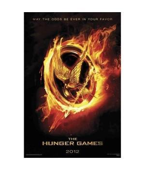 """Постер """"The Hunger Games (Голодные игры)"""""""