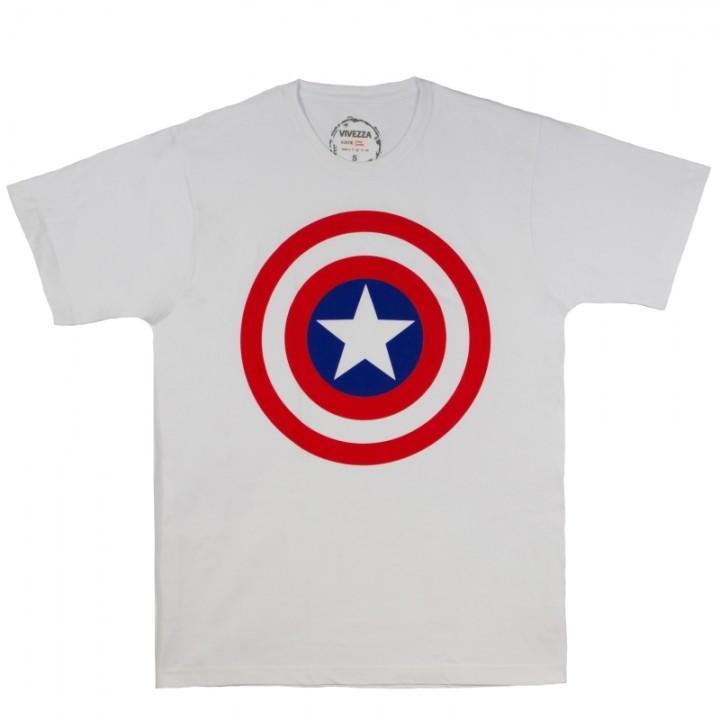 "Футболка ""Captain America (Капитан Америка)"" (289)"