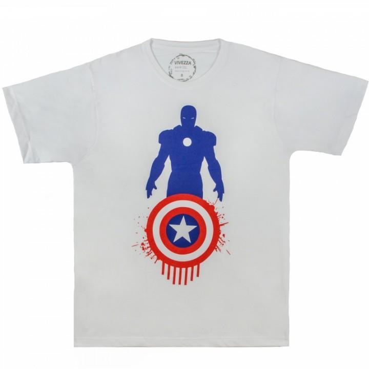 "Футболка ""Captain America v Iron Man (Капитан Америка)"" (298)"