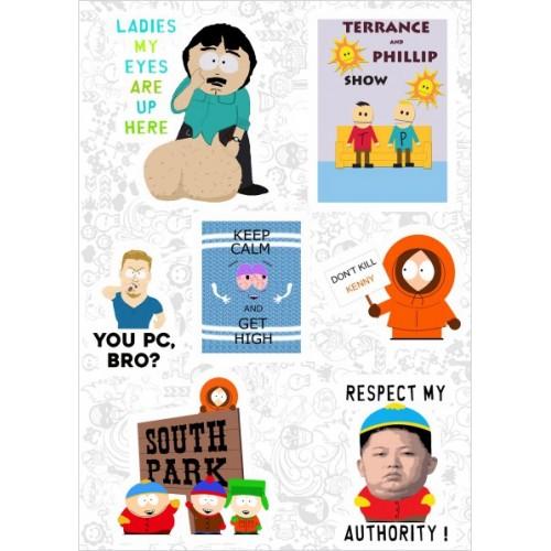 "Набор виниловых наклеек №104 ""South Park"" (2917)"