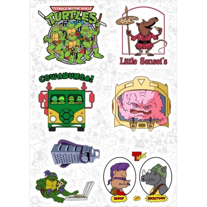 "Набор виниловых наклеек №132 ""Teenage Mutant Ninja Turtles (Черепашки-ниндзя)"" (2988)"