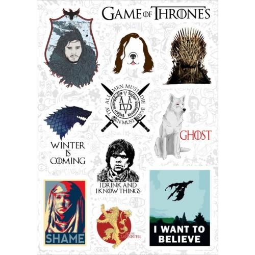 """Набор виниловых наклеек №138 """"Game of Thrones (Игра престолов)"""" (3350)"""