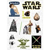 """Набор виниловых наклеек №139 """"Star Wars (Звездные войны)"""""""