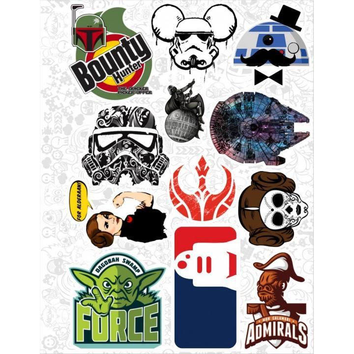 """Набор виниловых наклеек №22 """"Star Wars (Звездные войны)"""""""