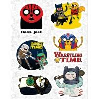 """Набор виниловых наклеек №29 """"Adventure Time (Время приключений)"""""""