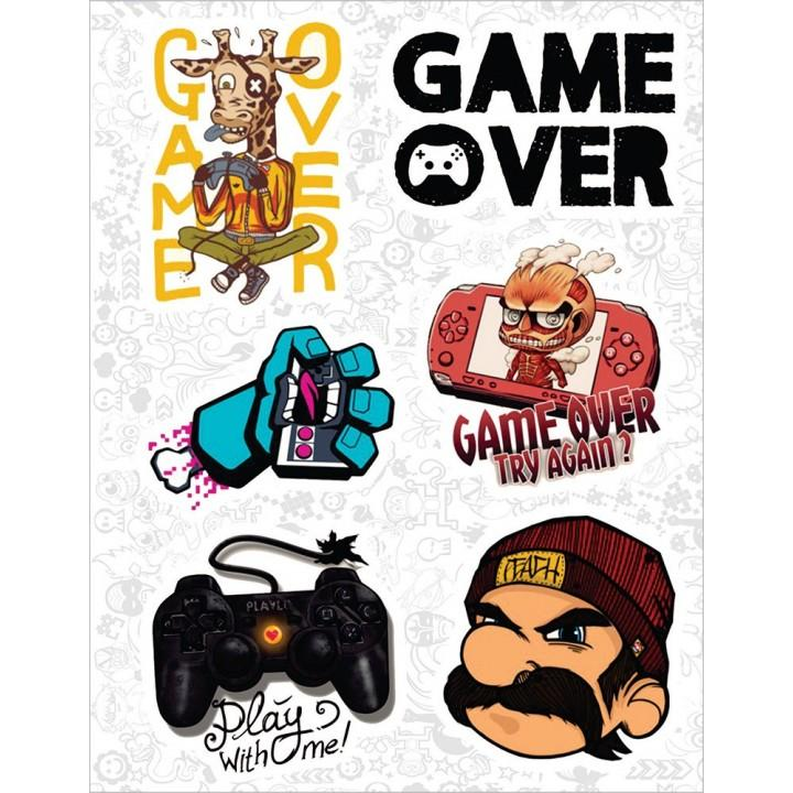 "Набор виниловых наклеек №35 ""Game"""