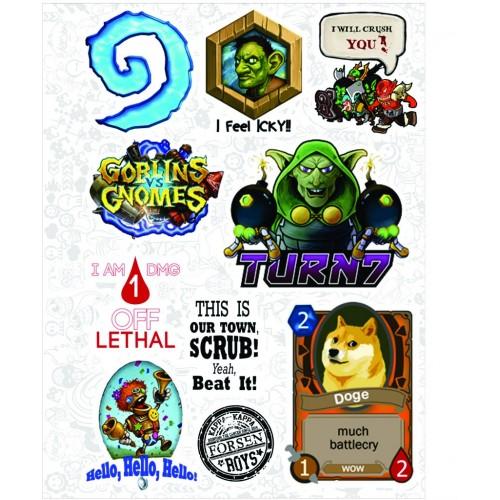 "Набор виниловых наклеек №37 ""Warcraft (Варкрафт)"""