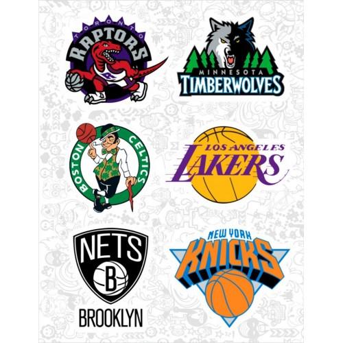 "Набор виниловых наклеек №43 ""NBA"""