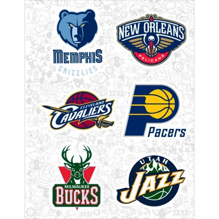 "Набор виниловых наклеек №44 ""NBA"""