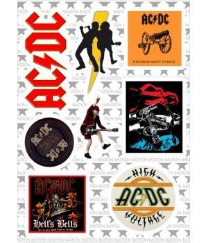 "M1 Набор виниловых наклеек ""AC/DC"""