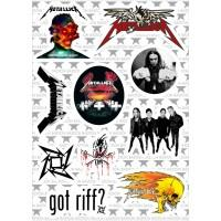 """Набор виниловых наклеек M2 """"Metallica"""""""