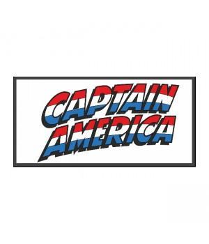 "Нашивка ""Captain America (Капитан Америка)"""