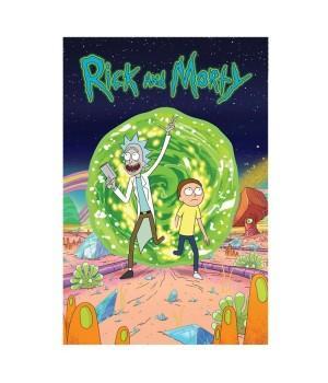 "Открытка ""Rick and Morty (Рик и Морти)"""