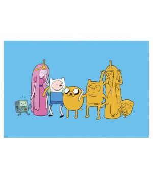 "Открытка ""Adventure Time (Время приключений)"""
