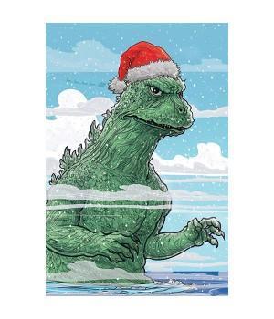 "Открытка ""Godzilla (Годзилла)"""
