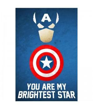 """Открытка """"Captain America (Капитан Америка)"""""""