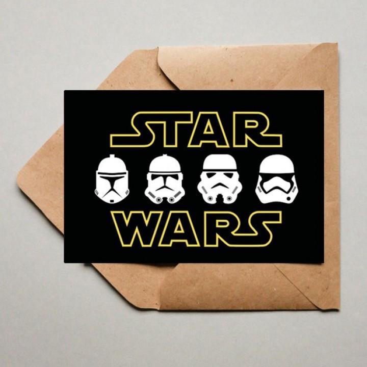 Открытку, открытка звездные войны с днем рождения своими руками