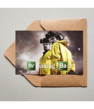 "Открытка ""Breaking Bad (Во Все Тяжкие)"""
