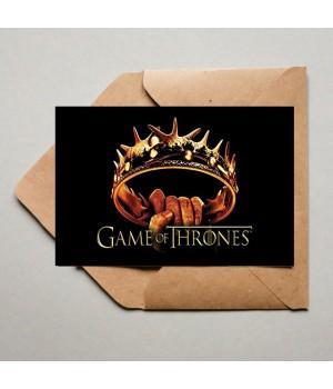 """Открытка """"Game Of Thrones (Игра престолов)"""""""