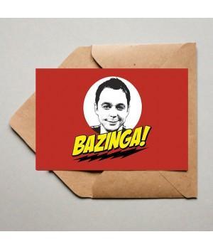 """Открытка """"The Big Bang Theory (Теория Большого Взрыва)"""""""