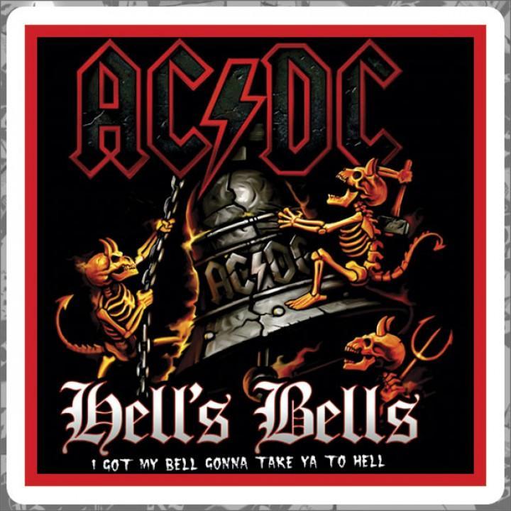"""Виниловая наклейка """"AC/DC"""" (1257)"""