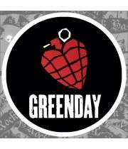"""Виниловая наклейка """"Green Day"""""""