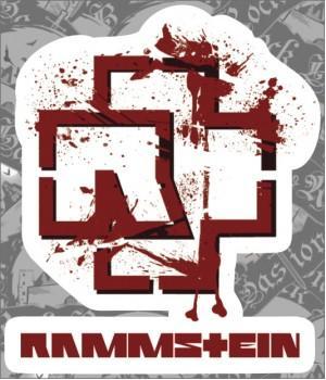 """Виниловая наклейка """"Rammstein"""""""