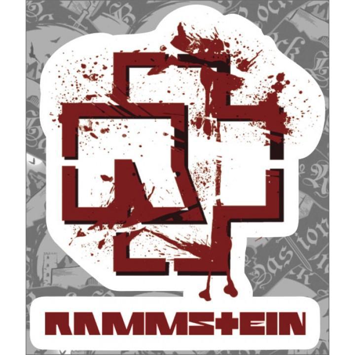 """Виниловая наклейка """"Rammstein"""" (1269)"""