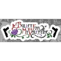 "Виниловая наклейка ""Bullet For My Valentine"""