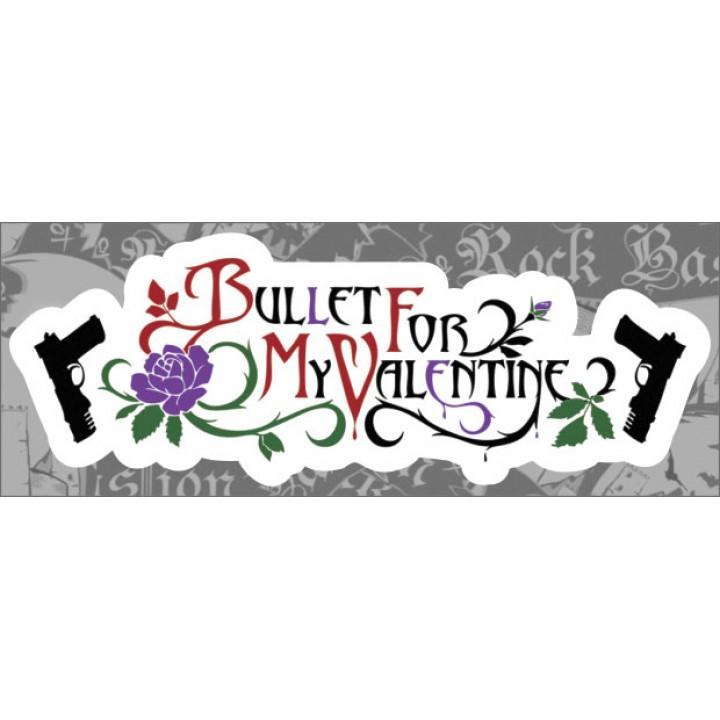 "Виниловая наклейка ""Bullet For My Valentine"" (1261)"