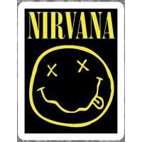 """Виниловая наклейка """"Nirvana"""""""