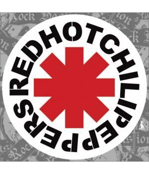 "Виниловая наклейка ""Red Hot Chili Peppers"""