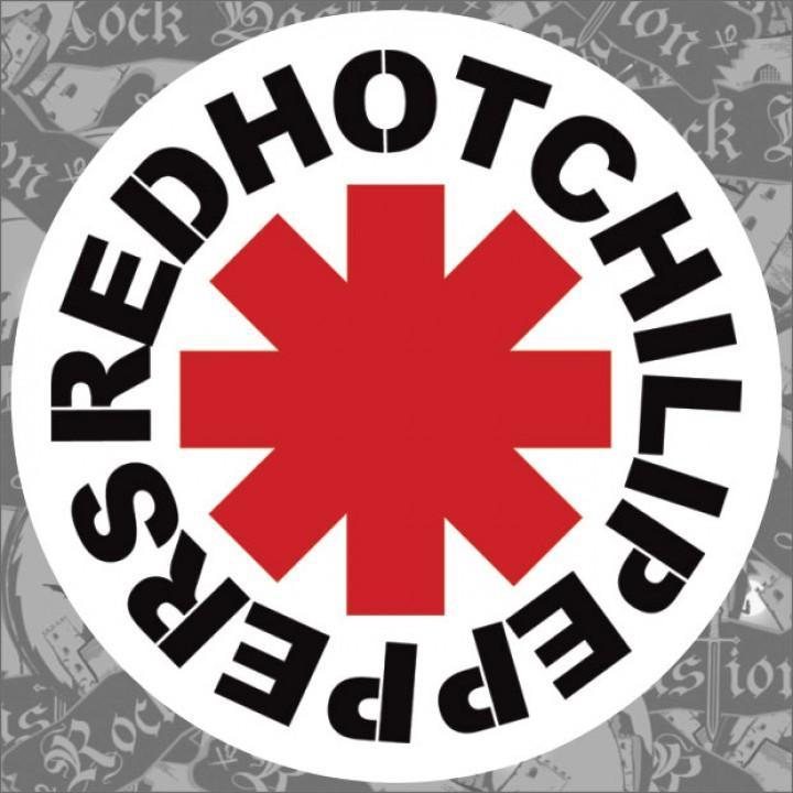 "Виниловая наклейка ""Red Hot Chili Peppers"" (1270)"
