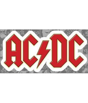 """Виниловая наклейка """"AC/DC"""""""