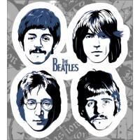 """Виниловая наклейка """"The Beatles"""""""