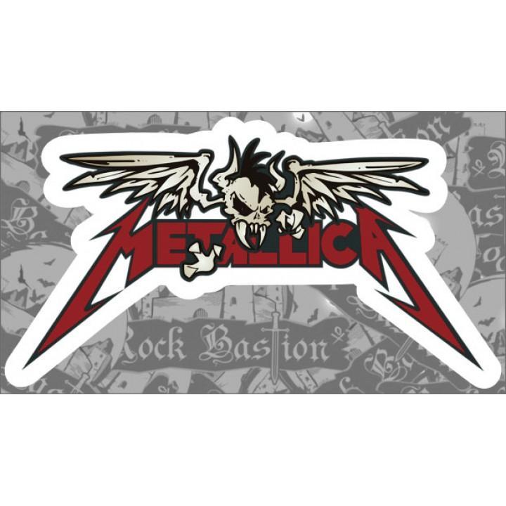 """Виниловая наклейка """"Metallica"""" (1265)"""