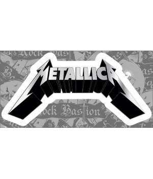 """Виниловая наклейка """"Metallica"""""""