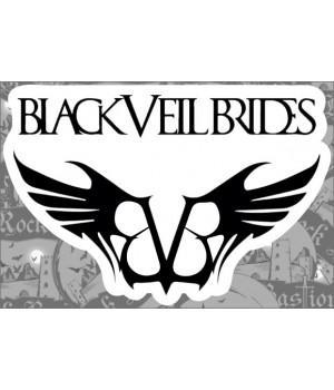 """Виниловая наклейка """"Black Veil Brides"""""""