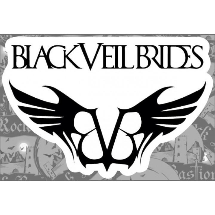 """Виниловая наклейка """"Black Veil Brides"""" (1259)"""
