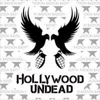 """Виниловая наклейка """"Hollywood Undead"""""""