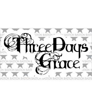 """Виниловая наклейка """"Three Days Grace"""""""