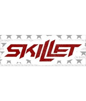 """Виниловая наклейка """"Skillet"""""""