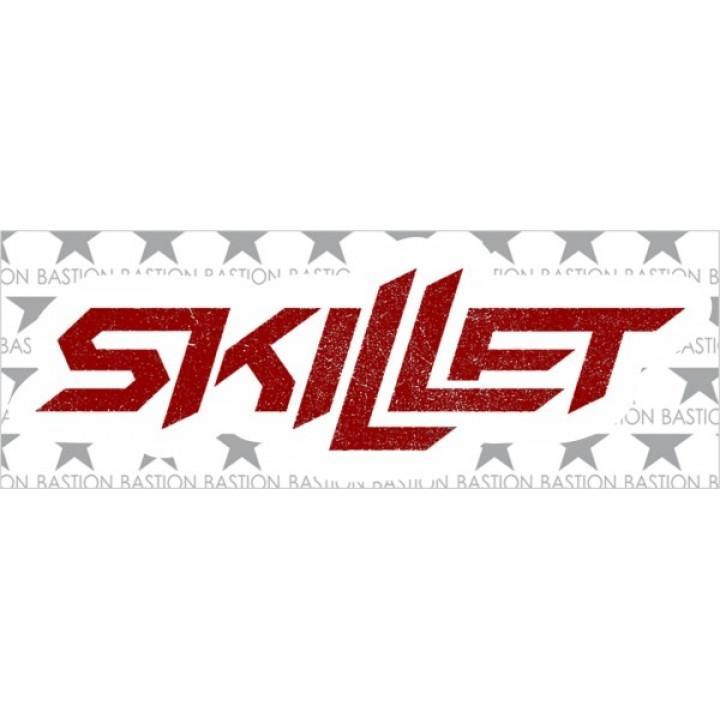"""Виниловая наклейка """"Skillet"""" (5411)"""