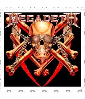 """Виниловая наклейка """"Megadeth"""""""