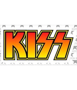"""Виниловая наклейка """"Kiss"""""""