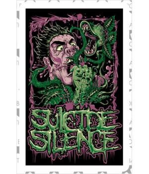 """Виниловая наклейка """"Suicide Silence"""""""