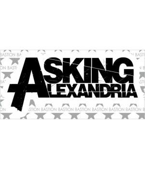 """Виниловая наклейка """"Asking Alexandria"""""""
