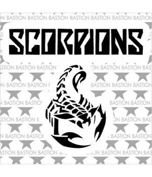 """Виниловая наклейка """"Scorpions"""""""